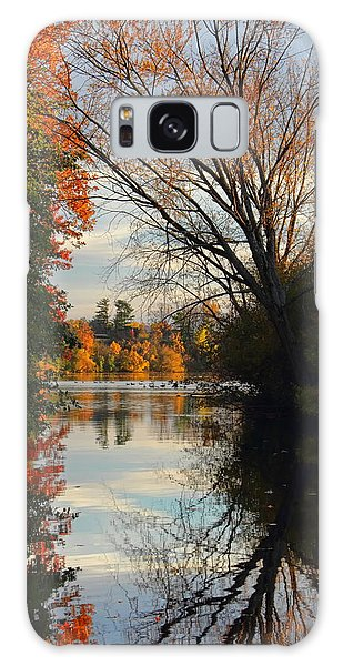 Peaceful October Afternoon Galaxy Case