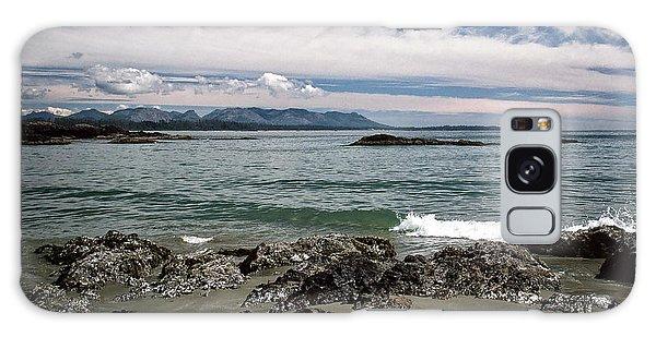 Peaceful Pacific Beach Galaxy Case