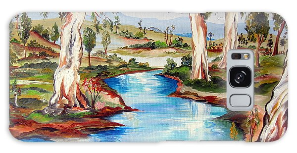 Peaceful River In The Australian Outback Galaxy Case by Roberto Gagliardi