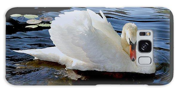 Peaceful Swan Galaxy Case