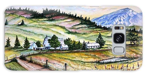 Peaceful Valley Farm Galaxy Case