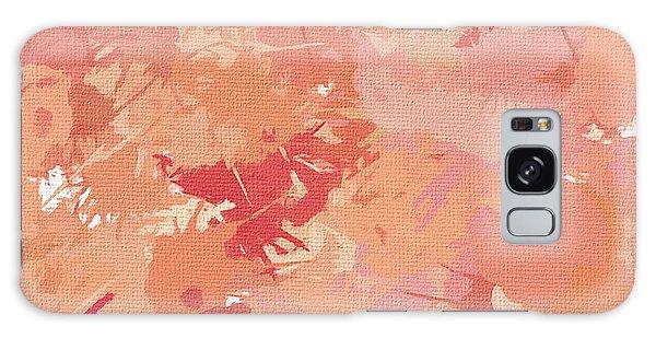 Peach Galore Galaxy Case by Lourry Legarde