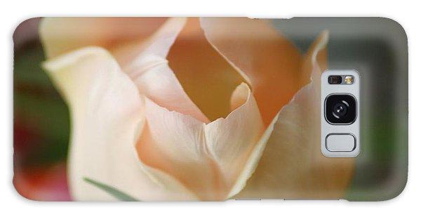 Peach Harmony Galaxy Case by Mary Lou Chmura