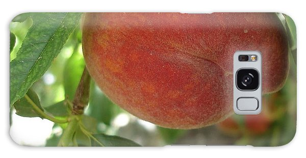 Peach Galaxy Case by Kerri Mortenson