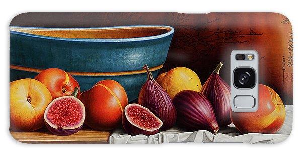 Peaches And Figs Galaxy Case by Horacio Cardozo