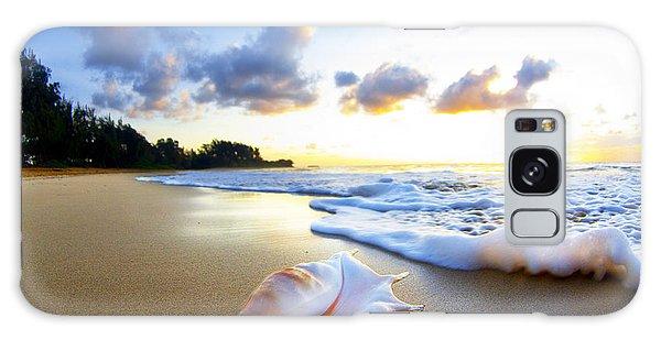 Beaches Galaxy Case - Peaches N' Cream by Sean Davey