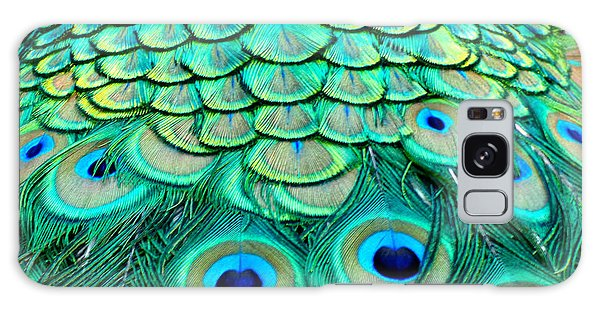 Peacock Back Galaxy Case