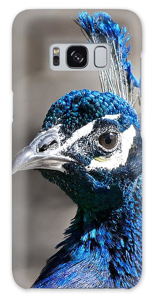 Peacock Blue Galaxy Case by Stephen  Johnson