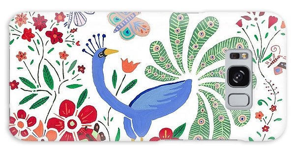 Peacock Bob Galaxy Case by Artists With Autism Inc
