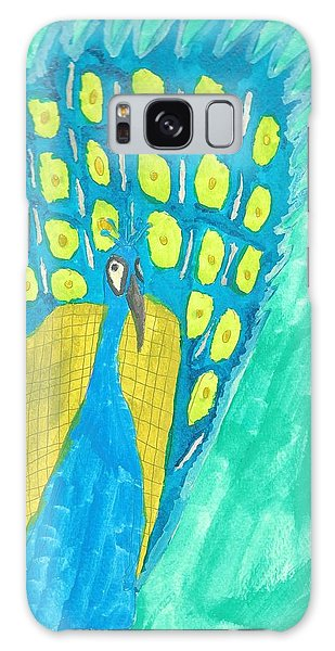 Peacock Galaxy Case by Artists With Autism Inc