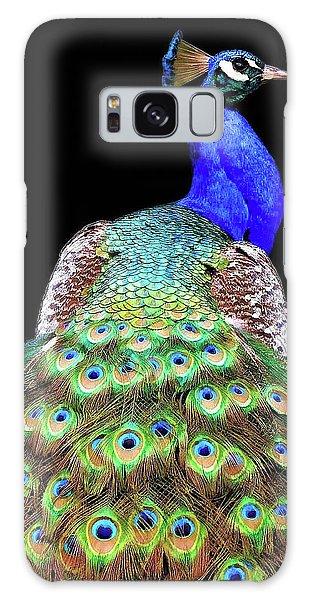 Peacocks Galaxy Case - Peacock by Danny Mendoza