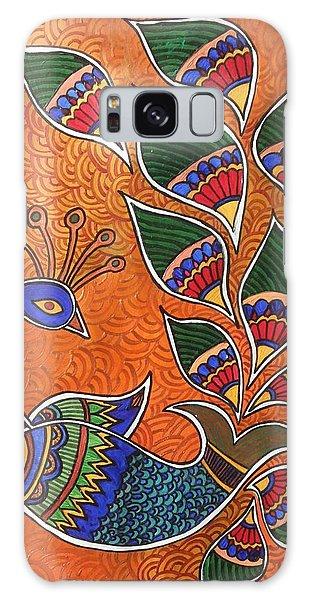 Madhubani Galaxy Case - Peacock-fish by Remya Damodaran