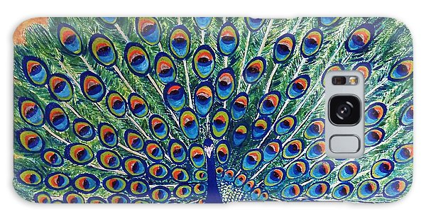 Peacock By Jasna Gopic Galaxy Case