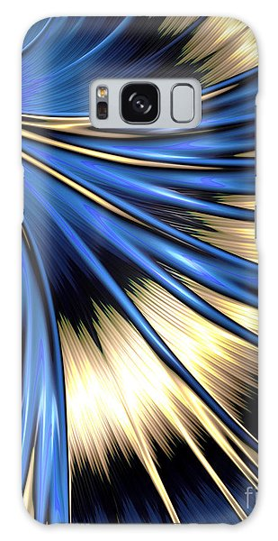 Peacock Tail Feather Galaxy Case