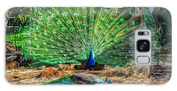 Peacocking Galaxy Case