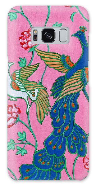 Peacocks Flying Southeast Galaxy Case