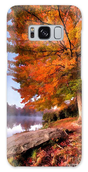 Peak Of Color - Blue Ridge Parkway Price Lake Galaxy Case
