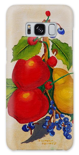 Pear And Apples Galaxy Case by Johanna Bruwer