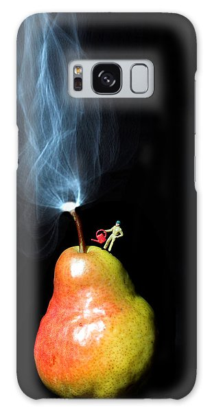 Pear And Smoke Little People On Food Galaxy Case