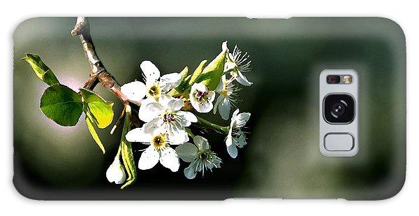 Pear Blossom Digital Galaxy Case