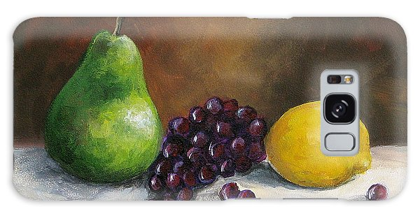 Pear Study With Lemon Galaxy Case by Torrie Smiley