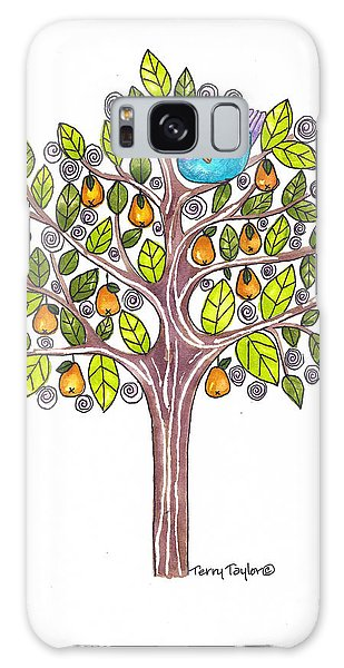 Pear Tree Galaxy Case by Terry Taylor