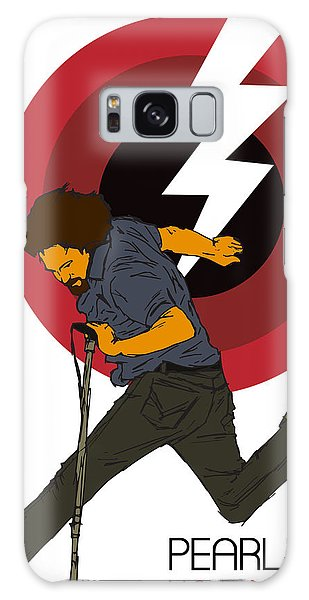 Pearl Jam Lightning Bolt Galaxy Case by Tomas Raul Calvo Sanchez