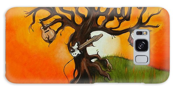 Pearl Jam Tree Galaxy Case by Tarah Davis