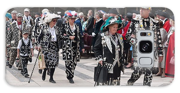 Pearly Kings And Queens Parade. Galaxy Case