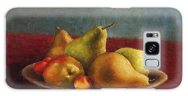 Pears And Cherries Galaxy Case