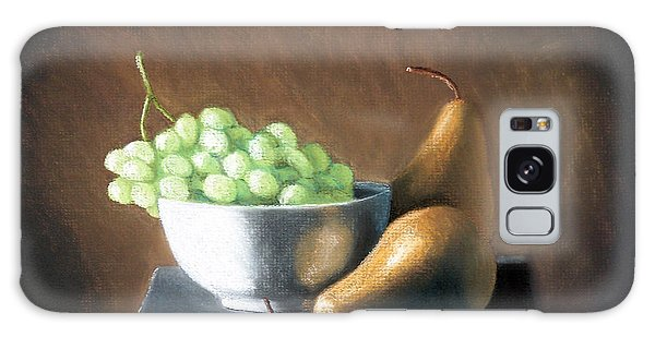 Pears And Grapes Galaxy Case