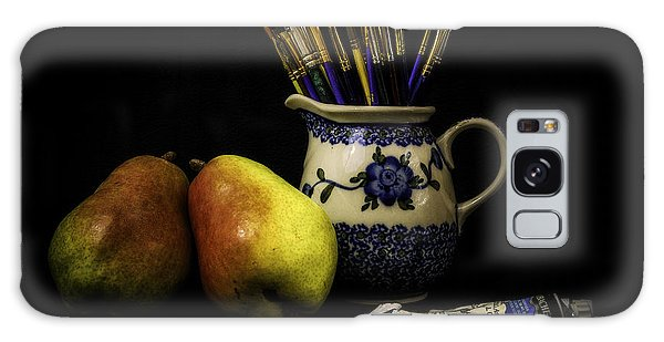 Pears And Paints Still Life Galaxy Case by Jon Woodhams