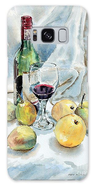 Pears And Wine Galaxy Case by Joey Agbayani