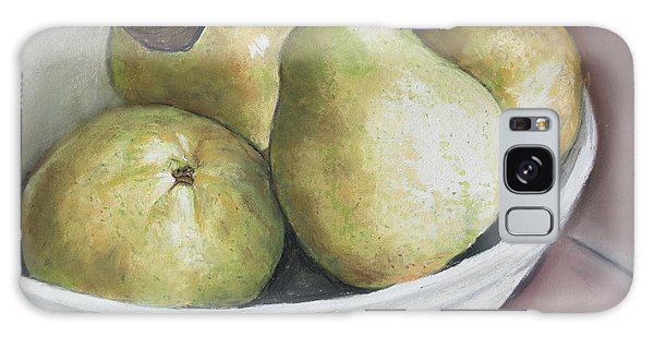 Pears In Bowl Galaxy Case
