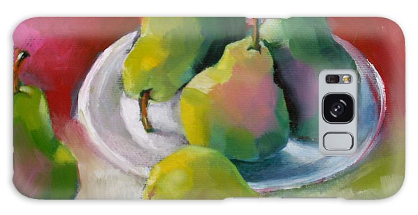 Pears Galaxy Case by Michelle Abrams