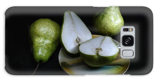 Pears On Noritake - Still Life Galaxy Case