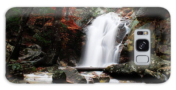 Peavine Falls In Autumn Galaxy Case by Shelby  Young