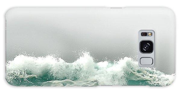 Pebble Beach In The Fog Galaxy Case