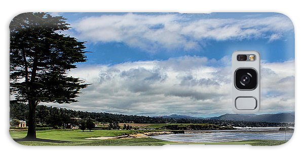 Pebble Beach - The 18th Hole Galaxy Case