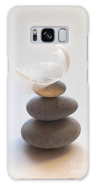 Pebble Pile Galaxy Case by Jan Bickerton