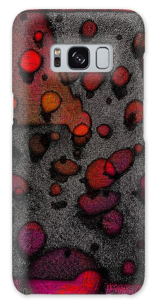 Pebbles On An Alien Beach Galaxy Case