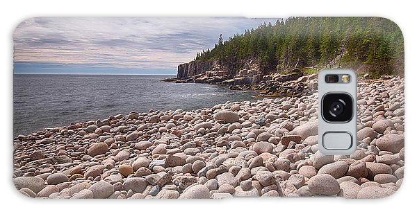 Otter Rock Galaxy Case - Pebbles On The Beach, Cobblestone by Panoramic Images