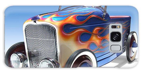 Chrome Galaxy Case - Peddle Car by Mike McGlothlen