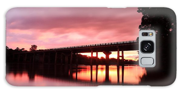 Pee Dee Sunset Galaxy Case