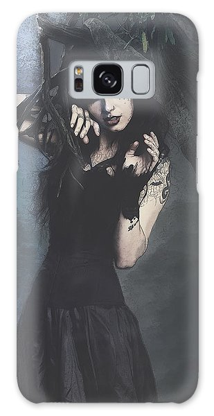 Peek Gothic Scene Galaxy Case
