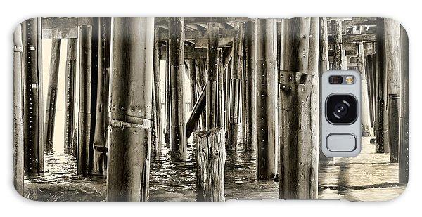 Peeking Under The Pier By Diana Sainz Galaxy Case