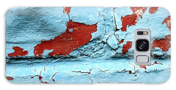 Peeling Paint Galaxy Case
