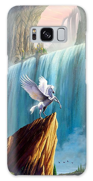 Pegasus Kingdom Galaxy Case by Garry Walton