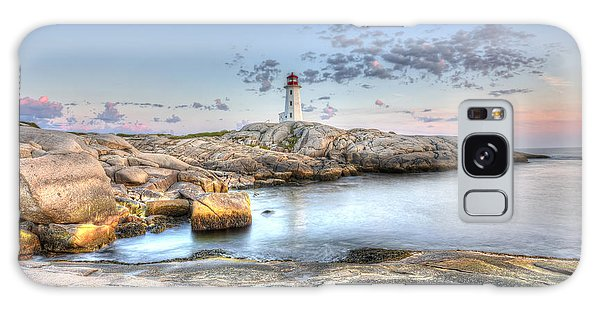 Peggy's Cove Lighthouse Galaxy Case by Shawn Everhart