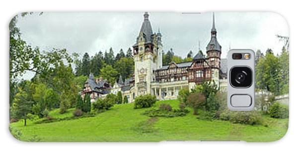 Pele Galaxy Case - Peles Castle In The Carpathian by Panoramic Images